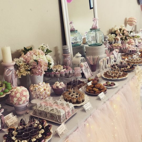 Sweet table de baptême