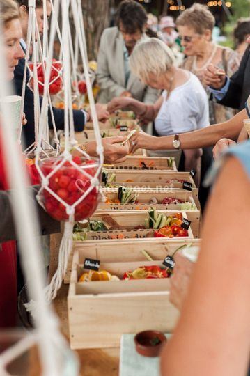 Atelier légumes croquants