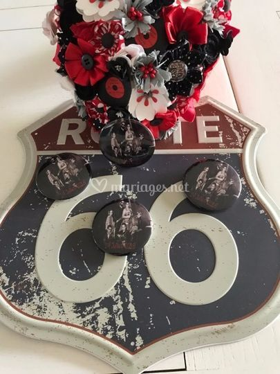 Route 66 Mariage