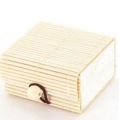 Boîte à dragées bambou (disponible en divers coloris)