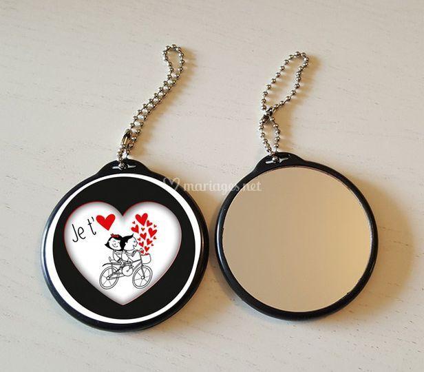 Porte clés Miroir