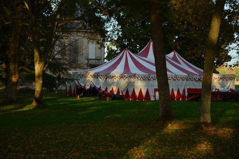 Chapiteau cirque Ullman