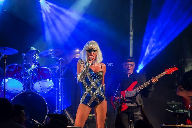 Delphine en Lady Gaga