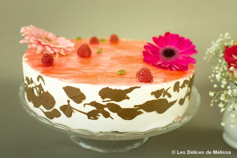 Wedding Cake Sans Pate A Sucre Lyon