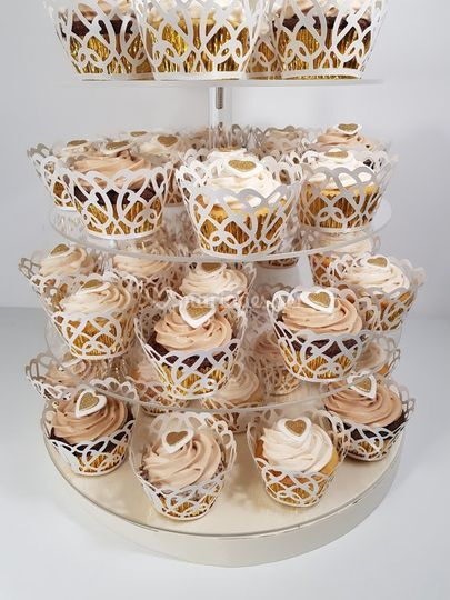 Gâteau tour de cupcakes