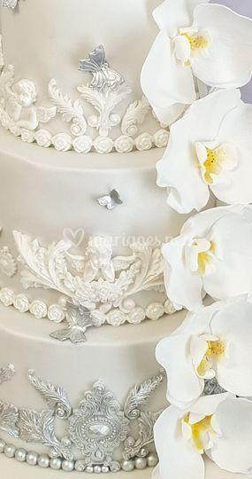Détail gâteau baroque