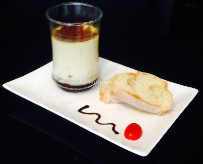 Panna cotta de foie gras
