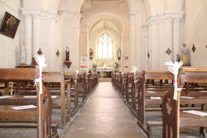 Décoration d'une église