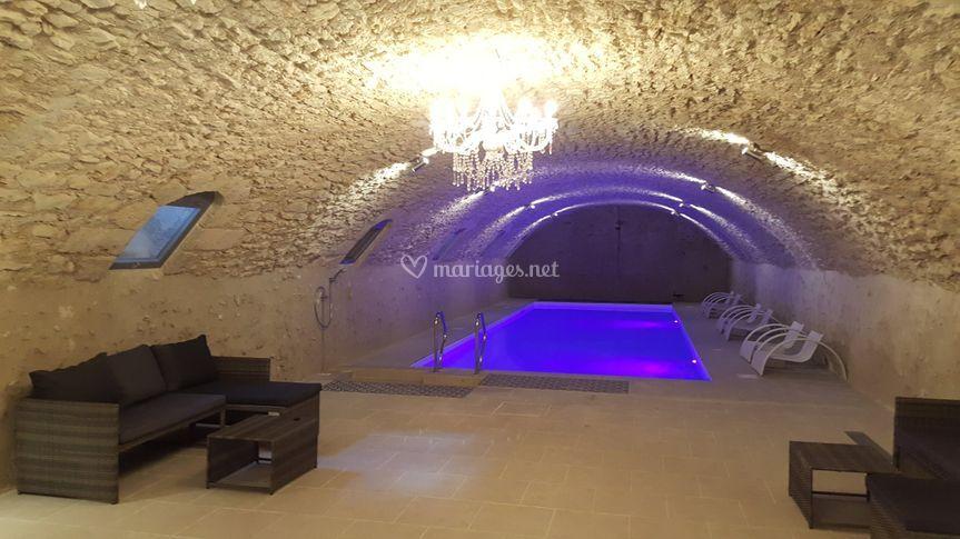 Piscine en cave