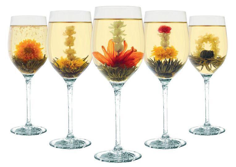 Fleurs de thé artisanales