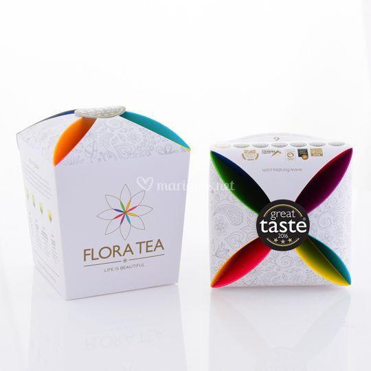 Assortiment 6 fleur de thé