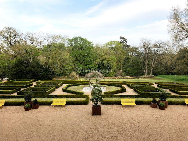 Jardins à la francaise