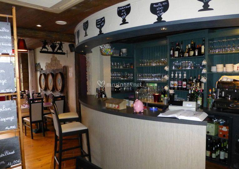 Bar salle restaurant
