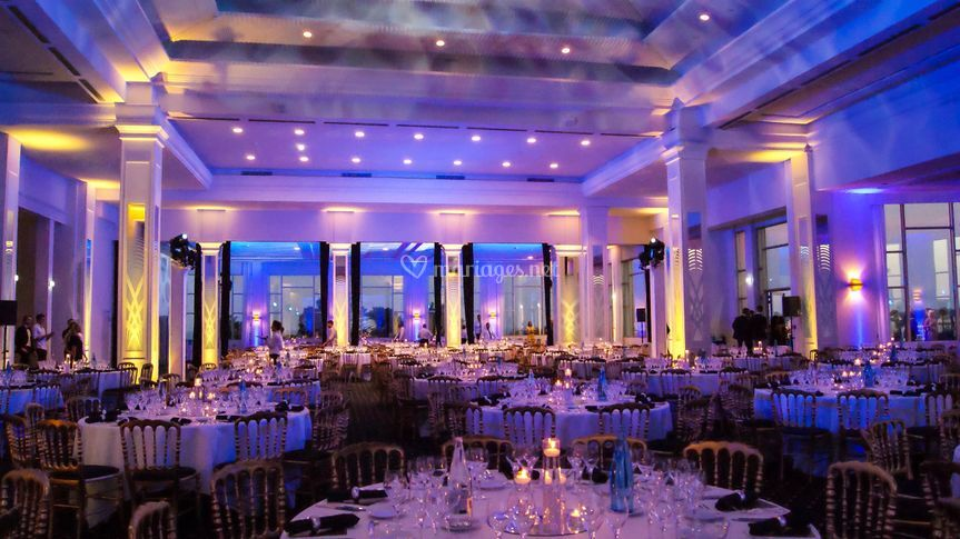 Salle événementielle - dîner