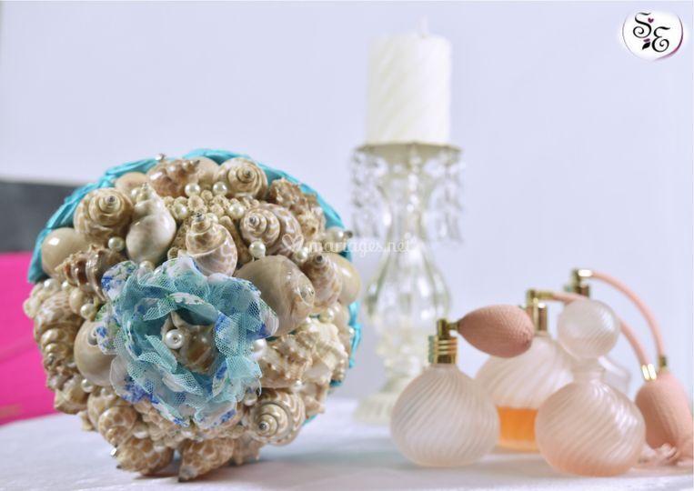 Bouquet coquillage