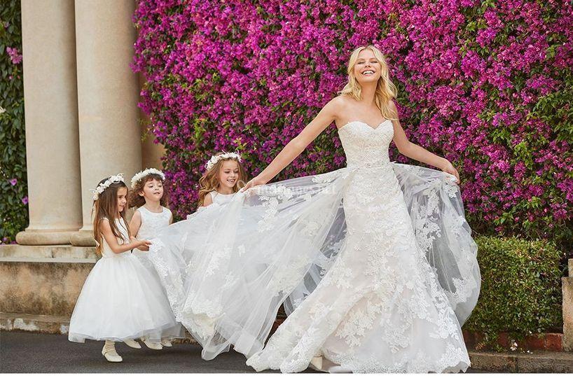 La cour des mariés