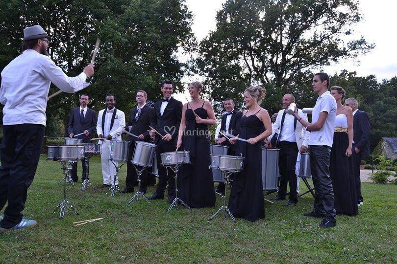 Mariage en Samba