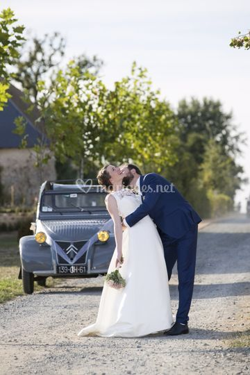 Mariage, photo couple