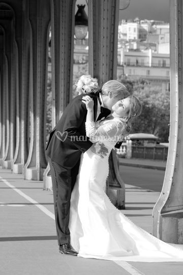 Mariage, photo couple