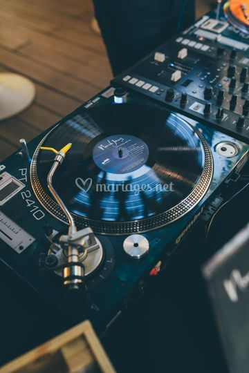 Mix sur platines vinyles