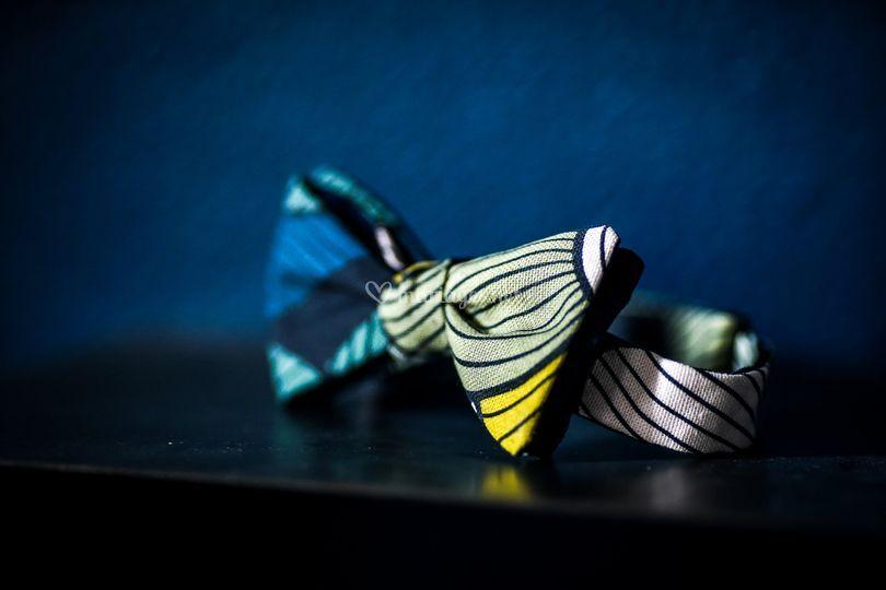 Noeud papillon coloré