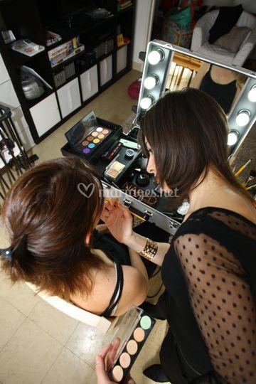 Mise en beauté et maquillage