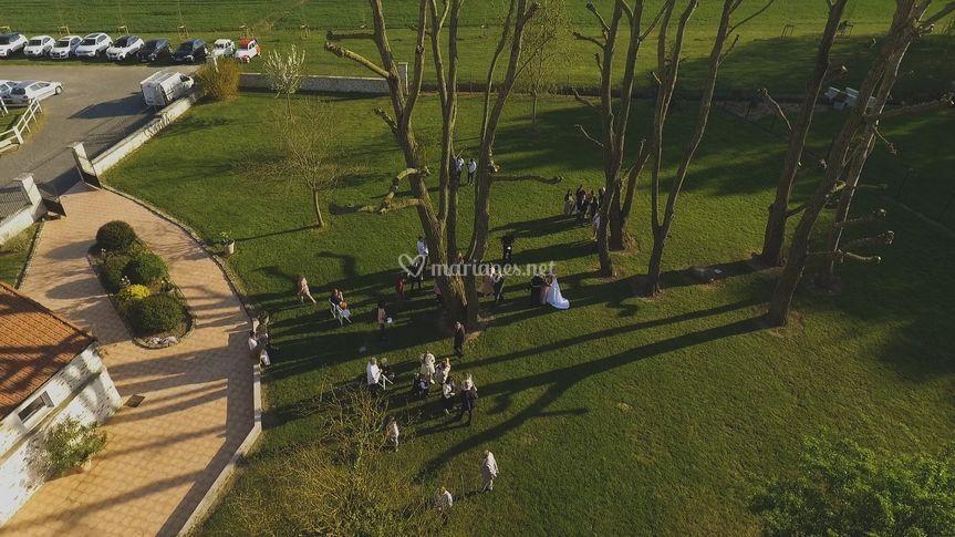 Photo aérienne avec drone