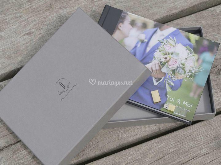 Votre album photo & Clé USB