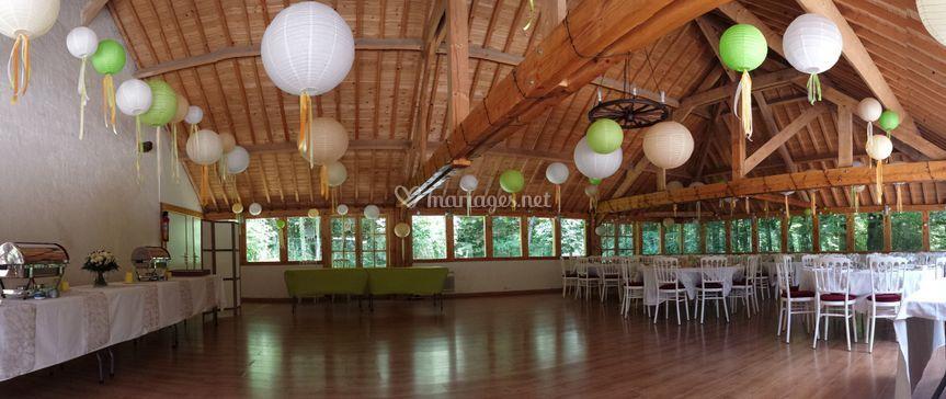 Exemple de décoration de salle