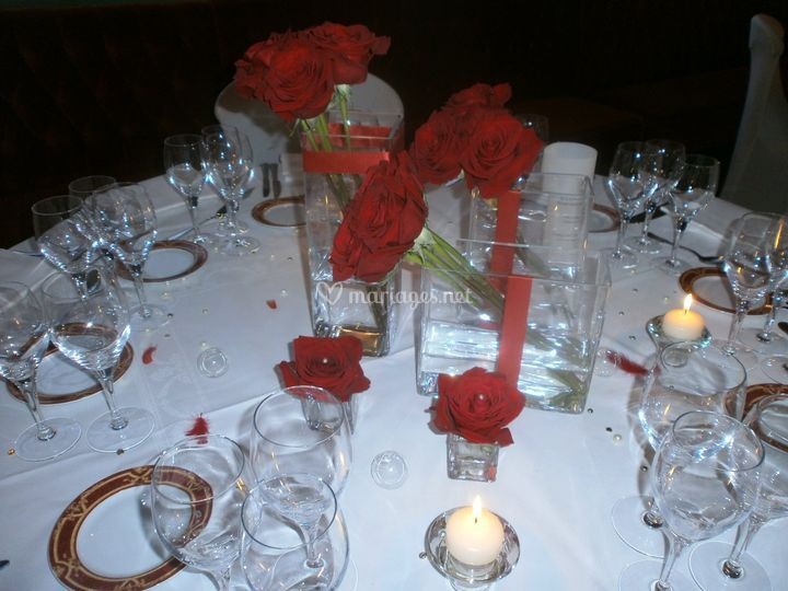 Galets Decor Table Anis