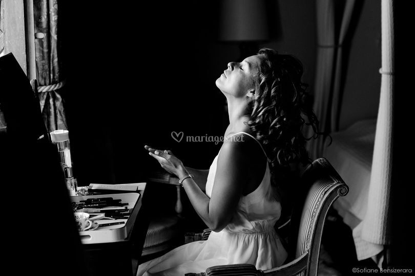 Photo preparatif mariage