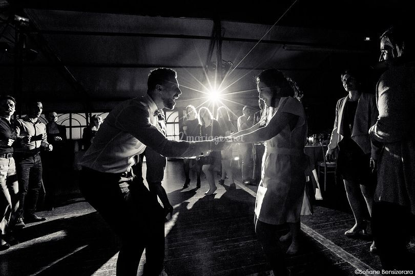 Photo soirée mariage toulouse