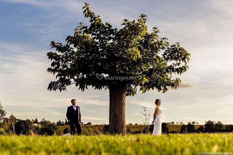 Photo couple mariage toulouse