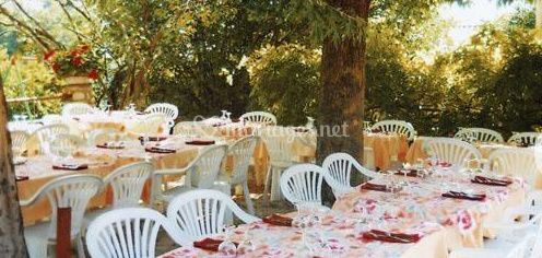 Banquets à l'extérieur