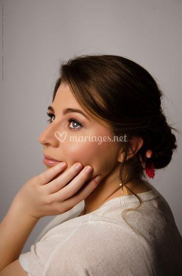 Manon maquillage + coiffure