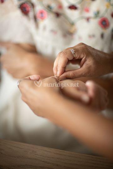 Préparations - bracelet