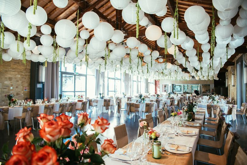Salle en format banquet