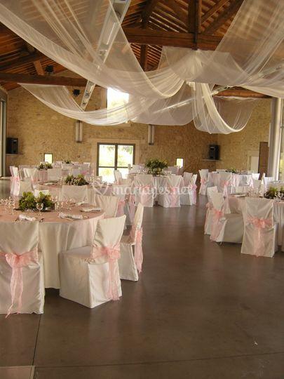 salle de mariage sur domaine de verchant - Domaine De Verchant Mariage