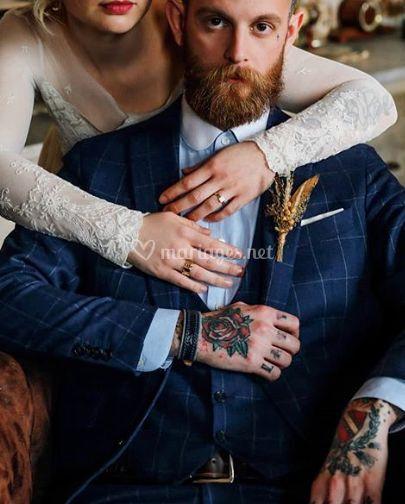 Costume peaky blinders mariage