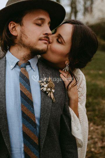 Costume bohème mariage blandin