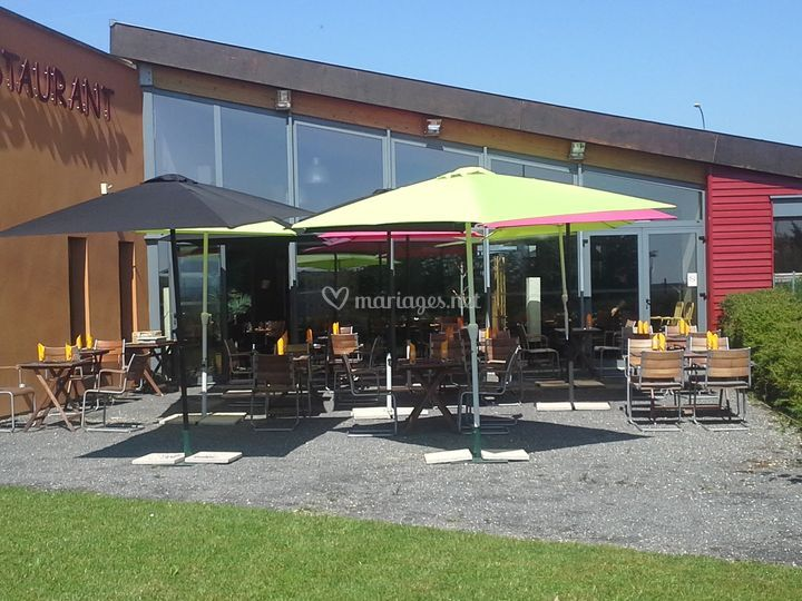 Terrasse clients