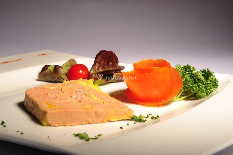 Foie gras au pineau