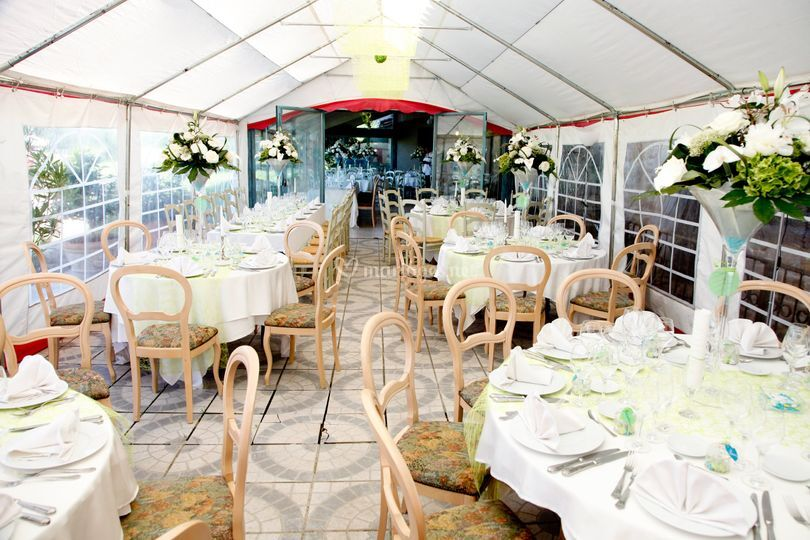 Mariage salle tente