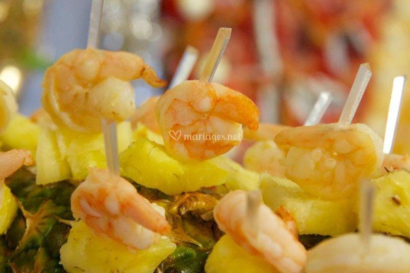 Gambas - Ananas