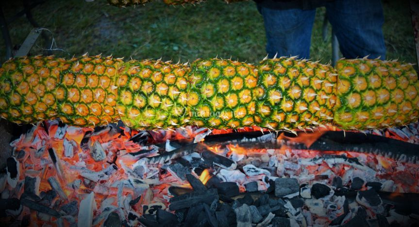 Ananas a la Broche