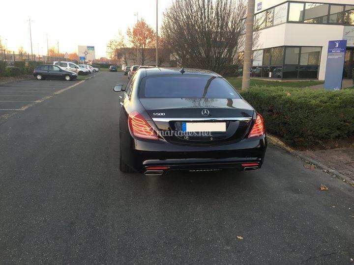 Mercedes Classe S - Arrière