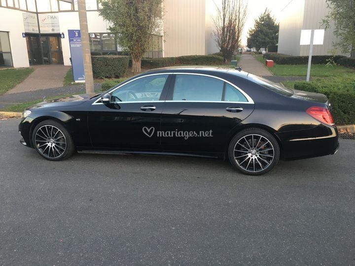 Mercedes Classe S - Côté