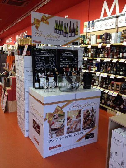 Grande sélection de vins