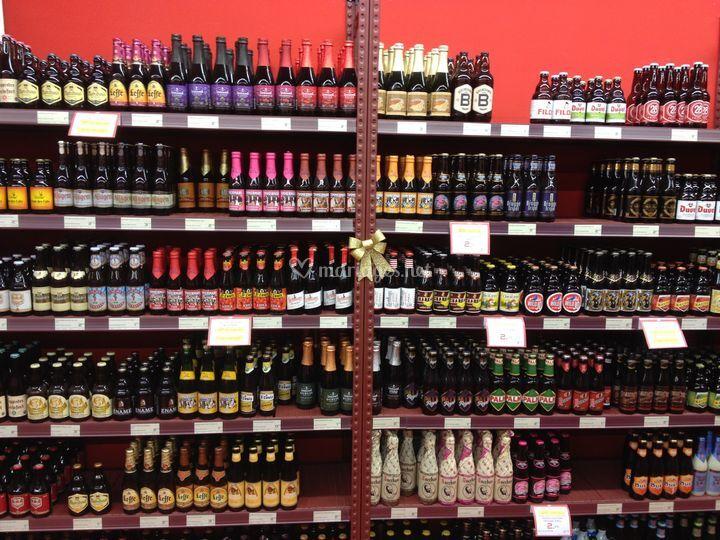 Grande sélection de bières
