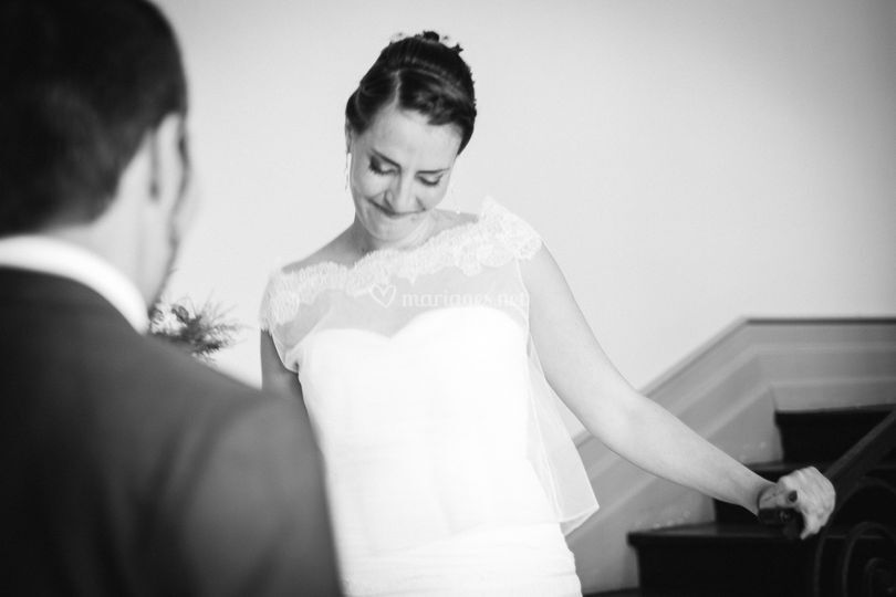 Les mariées se découvrent